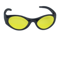 SAS Safety Stingers High Impact Safety Glasses Black Frames/Yellow Lens SAS5181-50