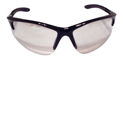 SAS Safety DB2 Safety Glasses with Indoor/Outdoor Lens and Black Frame in Clamshell Packaging SAS540-0612