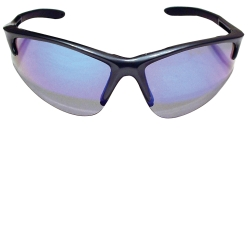 SAS Safety Clamshell DB2 Safety Glasses with Charcoal Frame and Purple Haze Lenses SAS540-0819