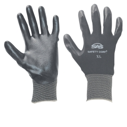 SAS Safety XLarge Paws Nitrile Coated Gloves SAS640-1910