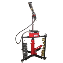 Schley Products 11000 Mobile Hydraulic Press Tool with Hand Pump - SCH11000