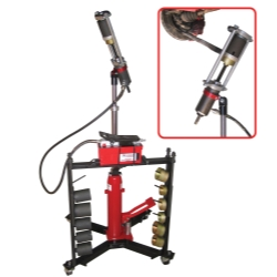 Schley Products Mobile Hydraulic Press Tool with Air Pump SCH11000A