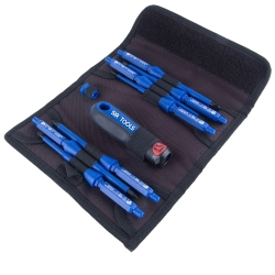 Sir Tools 9 Piece Professional 1000V Insulated Screwdriver Kit SIRST9012