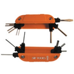 Sir Tools Fold-Up Wire Terminal Extractor Kit with 12 Barbs SIRST9025