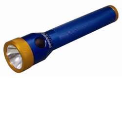 Streamlight Blue and Orange Stinger Flashlight with AC/DC STL75127