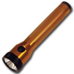 Streamlight Orange Stinger Flashlight with AC/DC and 2 Holders STL75191