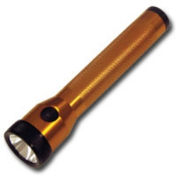 Streamlight Orange Stinger Flashlight with AC/DC and PiggyBack Charger STL75193