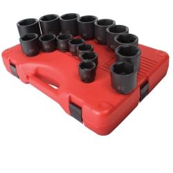 "Sunex Tools 16 Piece 1/2"" Drive SAE Impact Socket Set - SUN2690"