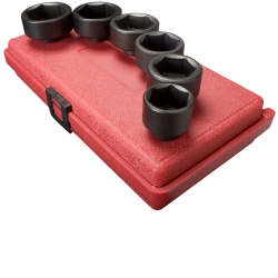 "Sunex Tools 3/8"" Drive 6 Piece Oil and Fuel Filter Socket Set SUN3671"