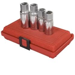 "Sunex Tools 1/2"" Drive 4 Piece Metric Stud Remover Set SUN8804M"