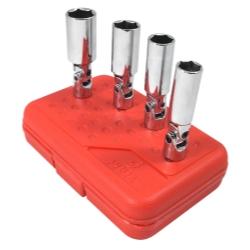 "Sunex Tools 3/8"" Drive 4 Piece Universal Spark Plug Socket Set SUN8844"