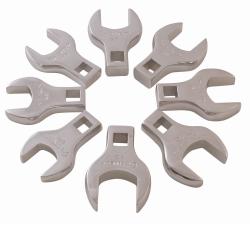 Sunex Tools 8 Piece Jumbo Metric Straight Crowfoot Wrench Set SUN9730
