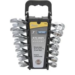Titan 7 Piece Metric Stubby Combination Wrench Set - TIT17374