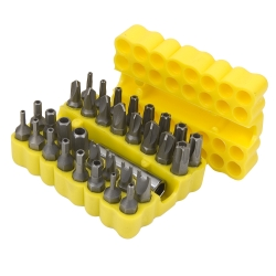 Titan 33 Piece Security Bit Set - TIT32964