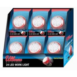 Ullman Devices Corp Rotating Magnetic LED Work Light - 6-Pack Display - ULLRT2LT6PK