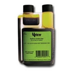 UVIEW Radiator Coolant Dye - 8 oz. Bottle - UVU483908