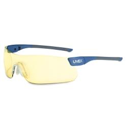 Uvex PrecisionPro Safety Glasses with Amber Lens - UVXSX0202
