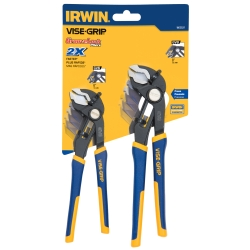 "Vise Grip 2 Piece GrooveLock 6"" and 8"" V-Jaw Pliers Set - VGP1802531"