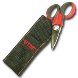 Vim Products Heavy Duty Work Shears with Belt Loop Sheath VIMWS55