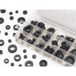 Wilmar 125 Piece Rubber Grommet Hardware Kit WLMW5214