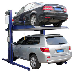 Auto Lift TP-6K-SS 6000 lb. Solid Platform Two Post Car Storage Lift