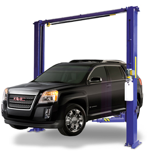 Auto Lift AL2-11K-ACD Overhead Style Asymmetric 2 Post Car Lift 11K lb