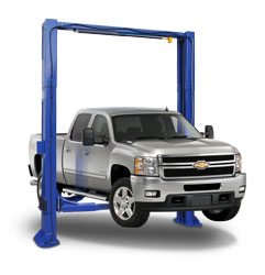 Maverick Lift TP-12K-CDE 12K lb Two Post Clear Floor Direct Drive Car Lift | ALI-ETL Certified