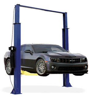 Auto Lift TP9KAC 9,000 lb. Capacity Asymmetric Two Post Car Lift - AL2-9K-AC
