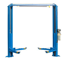 Auto Lift AL2-10KC-DTC Overhead Style Direct Drive Asymmetric 2 Post Car Lift 10K lb