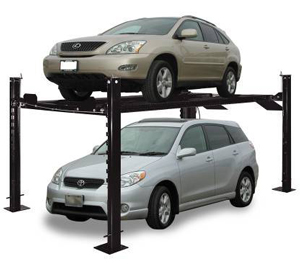 Auto Lift Car Park 7 Four Post Car Storage Parking Lift 7,000 lb.