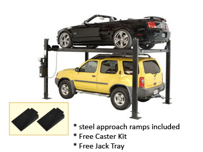 Auto Lift Car-Park-8 Car Storage Lift 8K lb | 4 Post Parking Lift