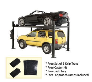 Auto Lift FP8K-DS Car-Park-8 Car Storage Lift 8K lb | 4 Post Parking Lift