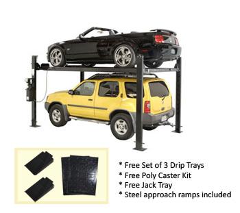 Auto Lift FP8K-DX Car-Park-8 Car Storage Lift 8K lb | 4 Post Parking Lift