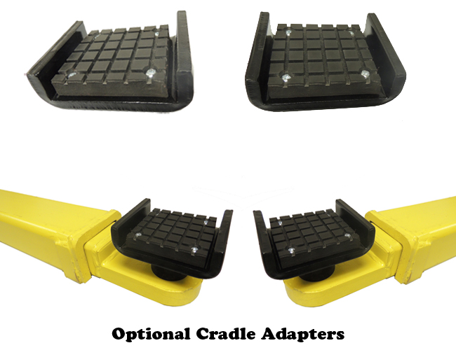Auto Lift optional Cradle Adapters for AL2-9k-AC