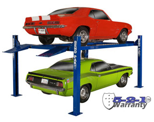 BendPak HD-9STX P/N 5175862 Narrow Width, High Car Lift 9,000 lb. Capacity