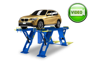 BendPak XR-12000 Quatra Car Scissor Specialty Lift 12,000 lb. Capacity