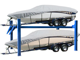 "BendPak HD-7500BLX Tall Boat Storage Lift 7.5K lb, 188"" Runway Length"