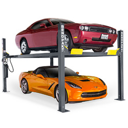 BendPak HD-9 Four Post Car Lift 9,000 lb. Capacity - New Gray