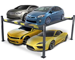 BendPak HD-9SW Double-Wide Car Storage Parking Lift 9,000 lb. Capacity