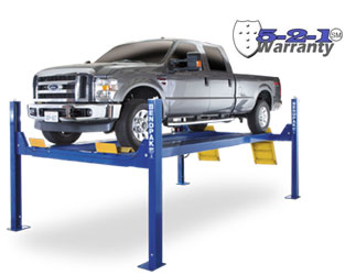 BendPak HDS-14X Extended Length Four Post Car Lift 14,000 lb. Capacity