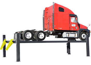 BendPak HDS-27X Heavy Duty, Extended Four Post Car Lift  27,000 lb.