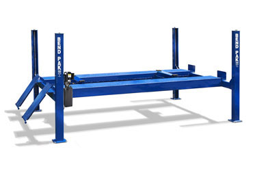 Blue BendPak HDS-35 ALI-ETL Certified Heavy Duty Four Post Truck Lift  35K lb