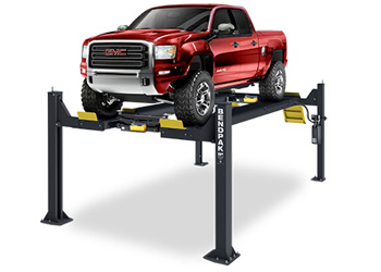 BendPak HDSO-14AX Extended Open Front Four Post Alignment Lift 14,000 lb.