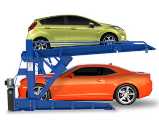 BendPak PLT-6S 2-Post Tilt Platform Car Stacker Parking Lift