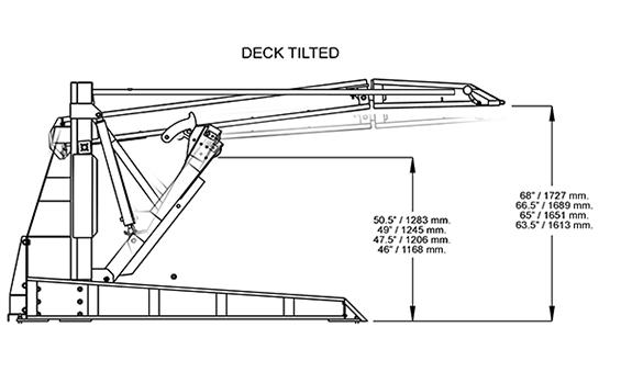 PLT-6S Deck Tilted
