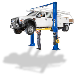 BendPak XPR-18C Clearfloor Standard Arms Two Post Car Lift 18,000 lb.
