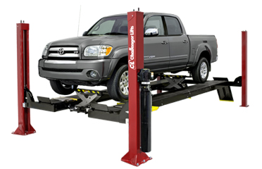 Challenger AR4015XAO Ex-Length Open Front 4 Post Alignment Rack 15,000 lbs