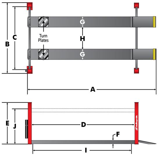 4030 Series specs diagram