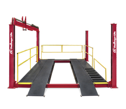 Challenger 44012LR Four Post Lube Lift 12,000 Capacity
