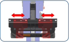 Challenger CLHM-185 Adjustable Carriage Assembly